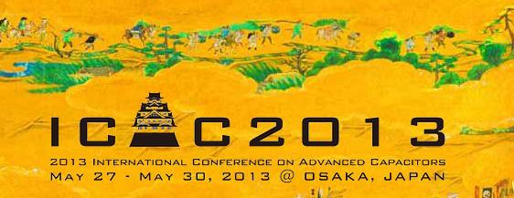 Конференция по конденсаторам ICAC 2013 в Осаке